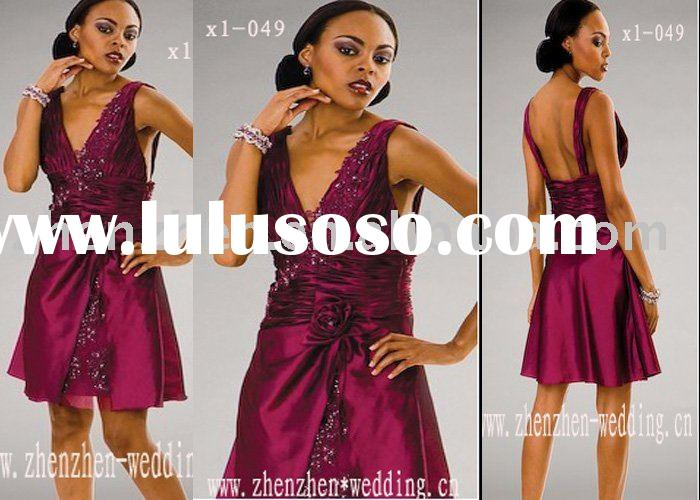 XL-049zhenzhen party dress