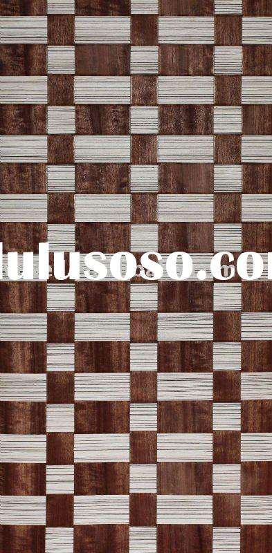 braided veneer natural wallpaper