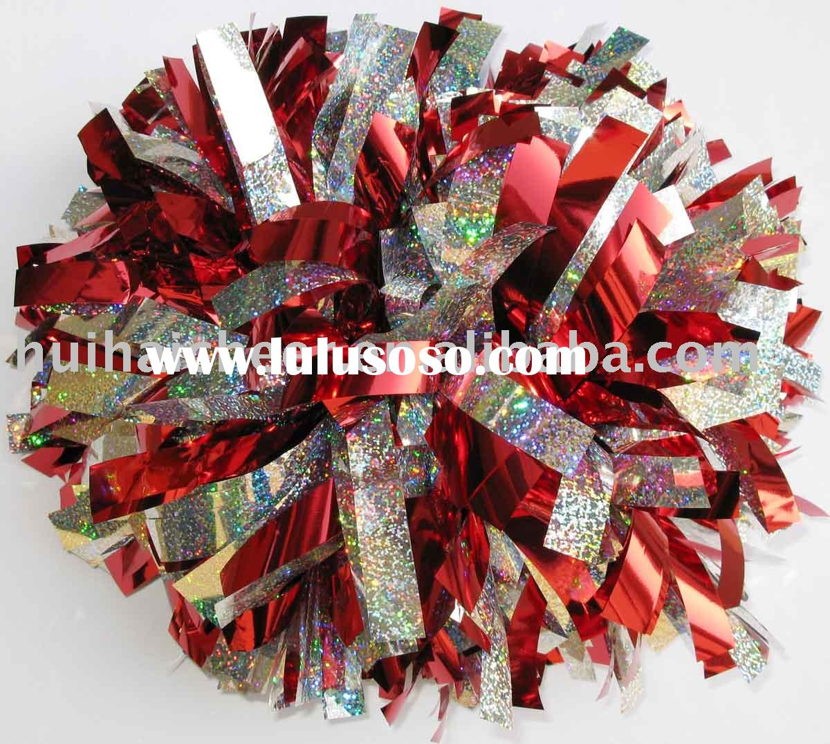 how to make cheerleading pom poms