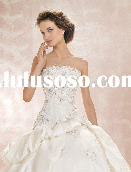 factory Latest design Bridal Gown wedding dress 2011