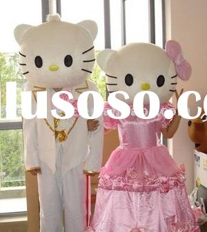 hello kitty cartoon mascot costumes