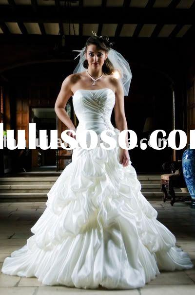 latest design wedding gown