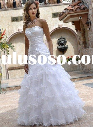 latest design wedding gown,bridal gown evening gownSH212