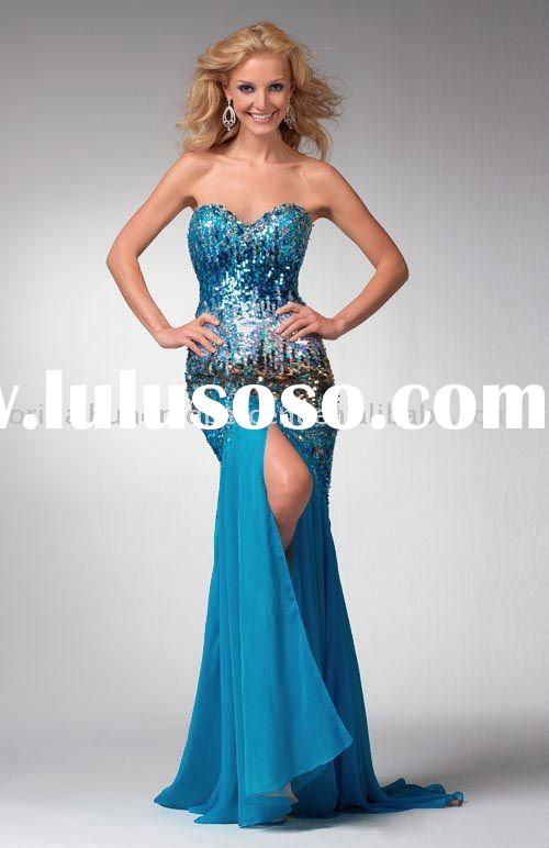 latest style prom gown