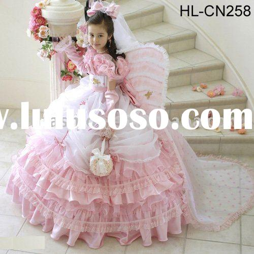 lovely girl birthday dress HL-CN258