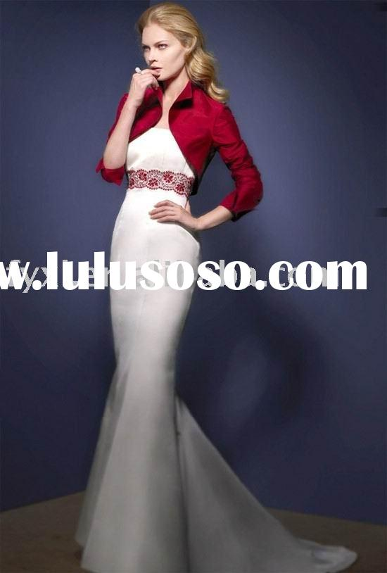 mermaid style wedding dress/women dress YW0956