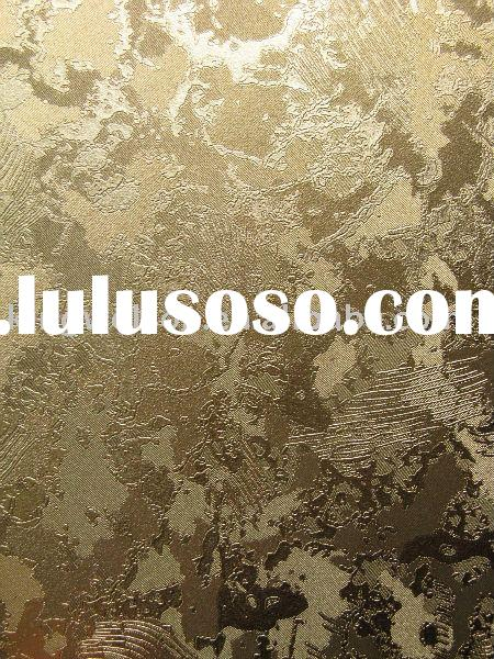 metallic wallpaper/metallic wallcovering/gold foil wallpaper