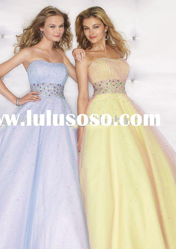outstanding prom gown sp35