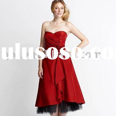 red rose corsage prom dress  QZ-26