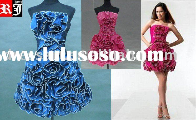 short prom dress/ short formal dress/ cocktail dress