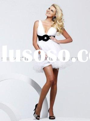 white tulle party dress