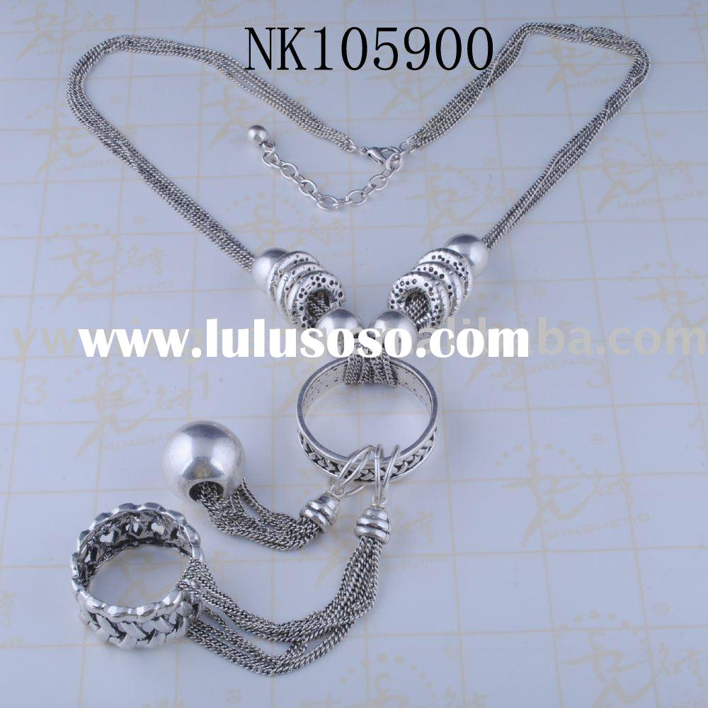 wholesale jewelry silver necklace