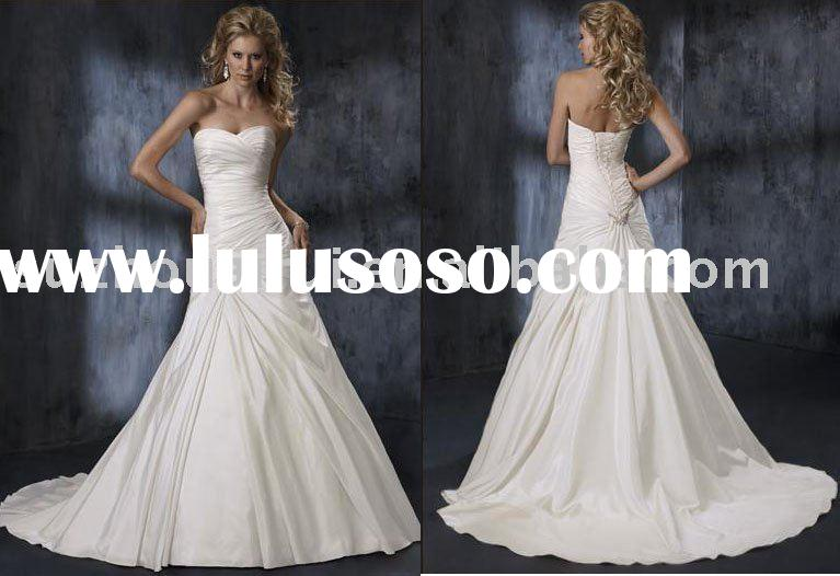 2009 Hot Sell Maggie Sottero Wedding Dress Bridal Gown MS066