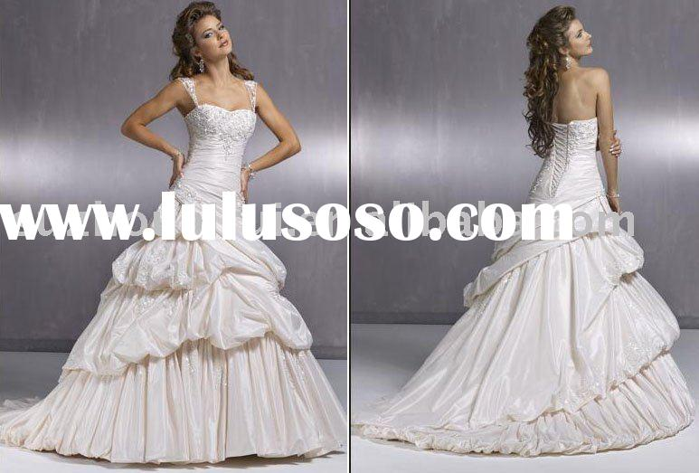 2009 Hot Sell Maggie Sottero Wedding Gown Bridal Dress MS076