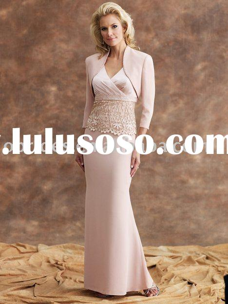 2010 New Style Sheath satin Mother of the Bride Dress 110905