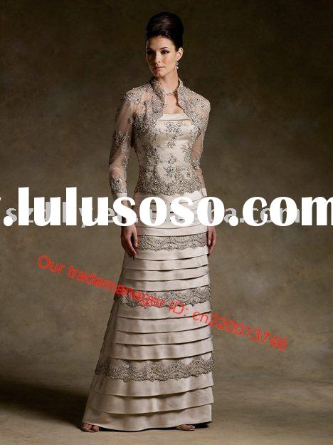 2010 best-sell modest and respected Mother of the bride dress SYF-9918