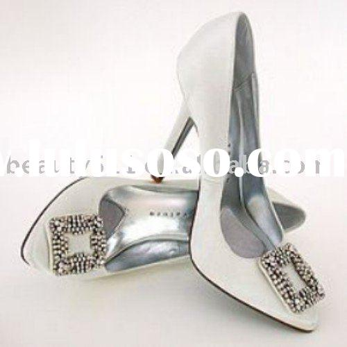 2010 lovely attractive ladies wedding shoes,wedding shoes,bridal shoes AA-003