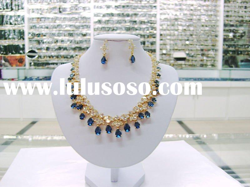 2010 new style wedding jewelry set,evening dress