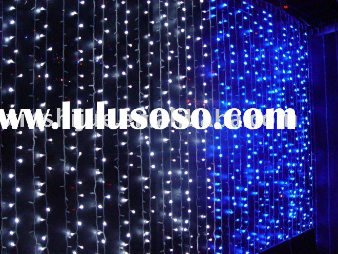 2011 outdoor waterproof led light curtains