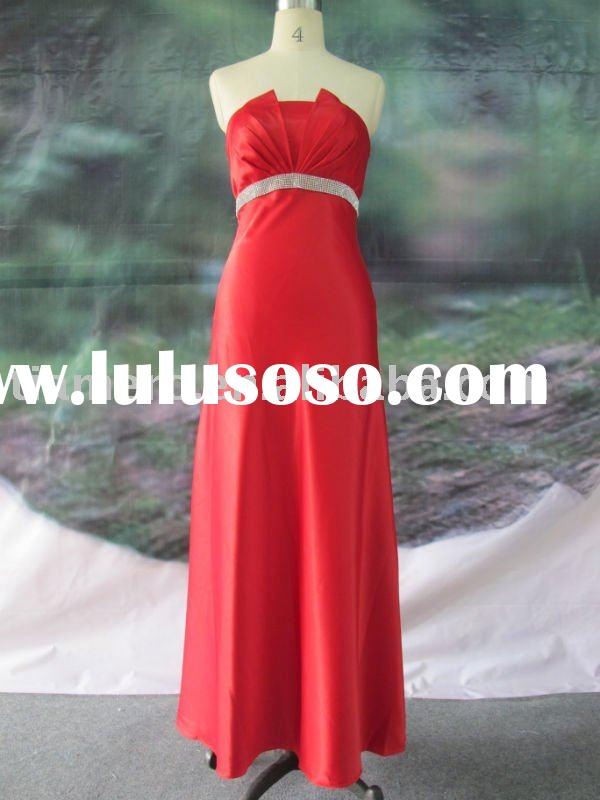 2011 red wedding dress hot sale