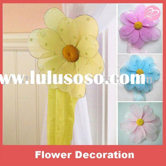 Artificial silk flower for room decoration