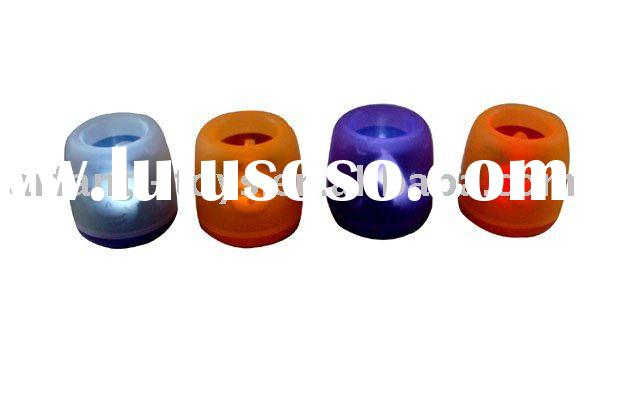 Battery Powered Color-changing LED Tealight/Wedding/Camping Mini Candle Light.