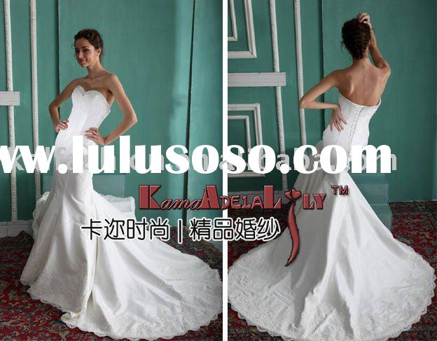 EB840 The fishtail gown no innerskirt wedding dress wedding dresses evening dress