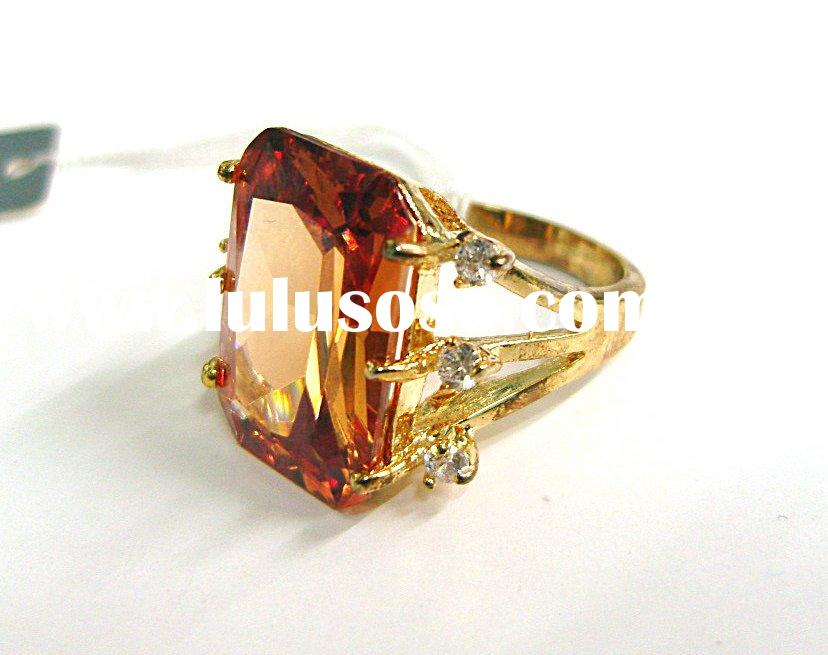 Europe style Ring wedding rings cubic zirconia jewelry