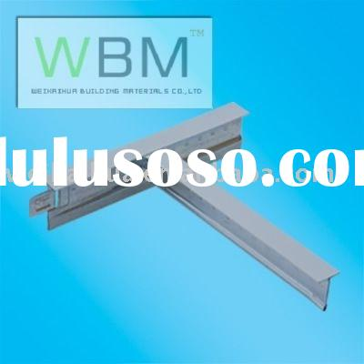 FALSE CEILING Fittings/Ceiling decoration T-bar/building material ceiling/t-bar/t-grids