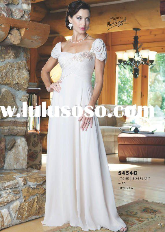 Gorgeous Chiffon Mother of Bride Dresses Long