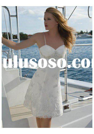 Gorgeous Ruffle Bridal Dress,2010 newly design and modern style fation dress