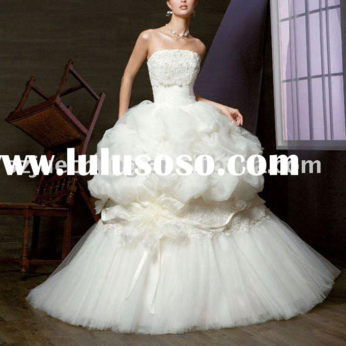 Gorgeous wedding dress EHL403