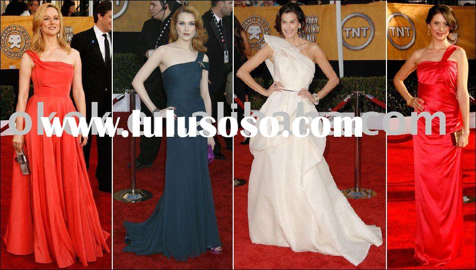 HC-042  Fashions Hollywood Recreations dresses celebrity style dresses gown prom dress