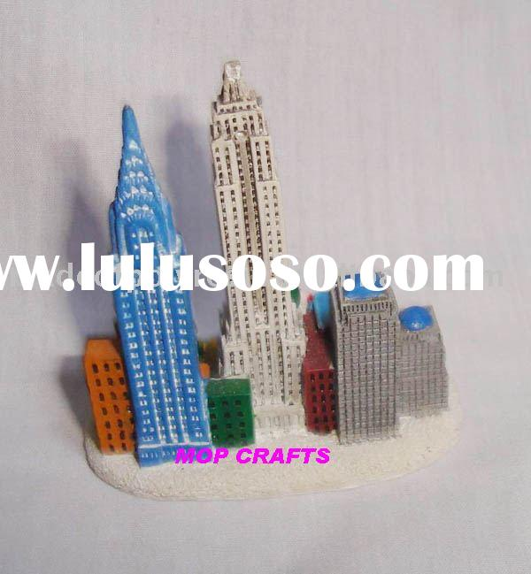 New York City resin souvenirs crafts