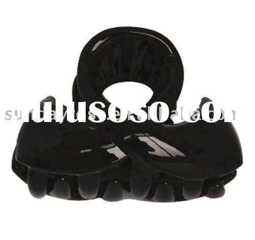 Noble Flutter Black Plastic Clips