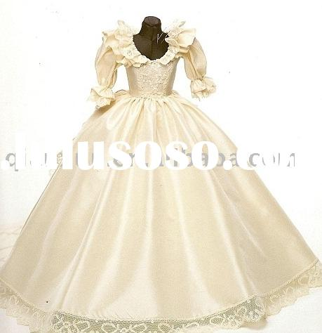 Princess bridal wedding gown