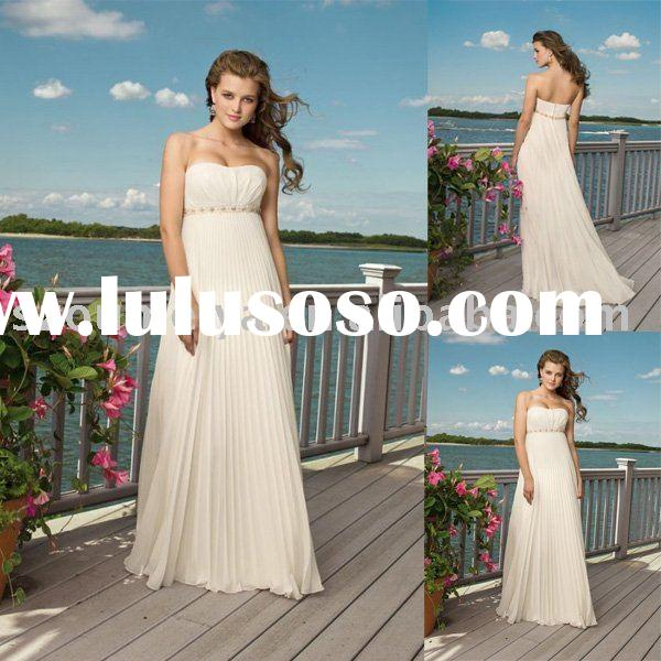 Simple Wedding Dress J1601
