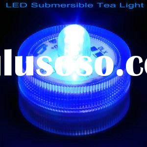 Submersible underwater RGB LED candles Tea Lights