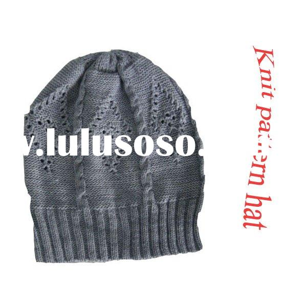Winter knitted fashion hats
