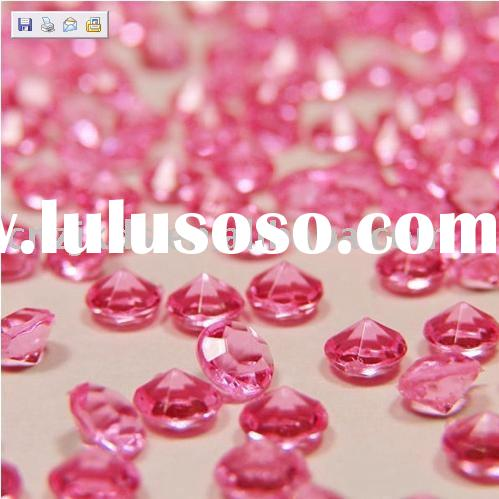 acrylic diamond confetti for wedding decoration