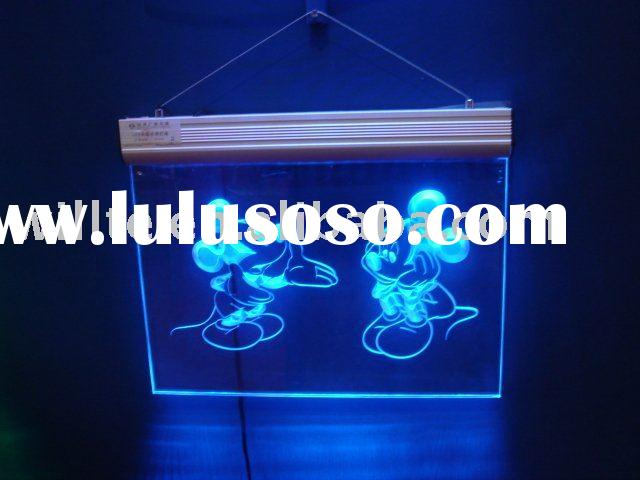 acrylic led sign board