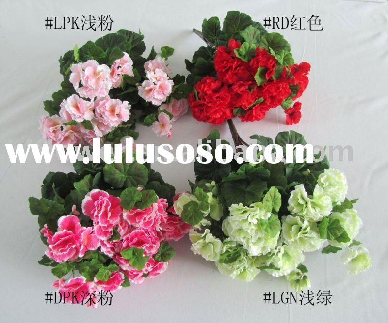 artificial flower bouquet-begonia