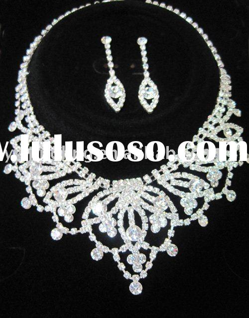 bridal wedding jewelry necklace