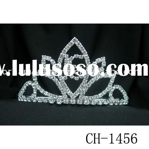 diamond tiara/tiara/crystal tiara/rhinestone tiara/wedding jewelry/bridal accessory