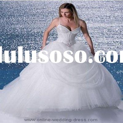 latest design princess wedding gown LR-W2625