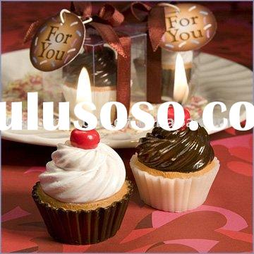 party supply of Cupcake Candle Wedding Favors