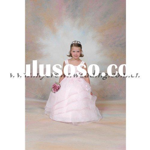 wholesale ball gown flower girl dresses for wedding 2011