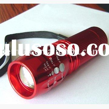 3W 3AAA Led Police Flashlight Outdoor Waterproof Torch
