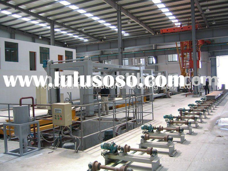 Autoclave Aerated Concrete (AAC) Production Line Automatic Machine