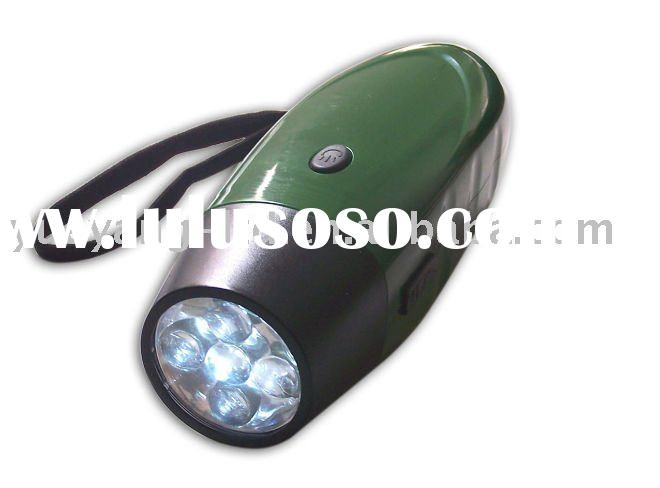 Dynamo 5 LED Flashlight